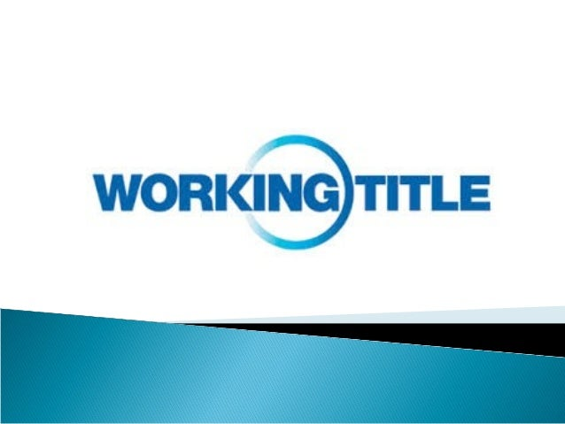  Working Title Films is a British film production company, based in London.  It was co-founded by producers Tim Bevan an...