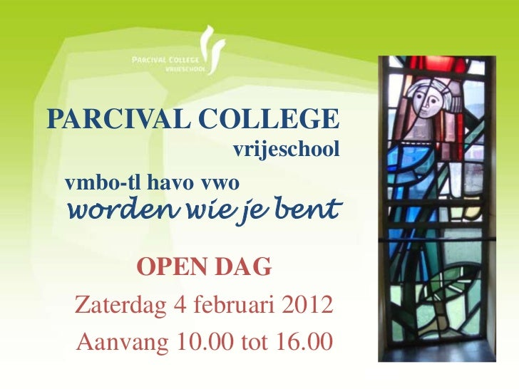 Powerpoint parcival college open dag 2012