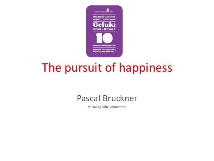 Powerpoint Studium Generale Pascal Bruckner