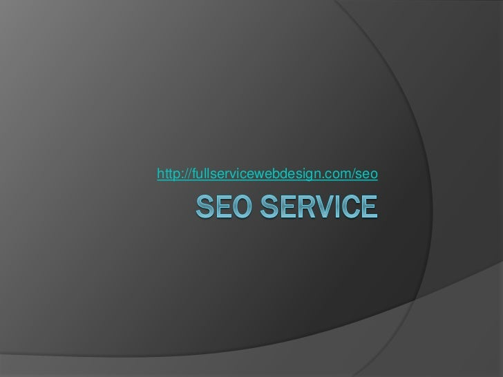 SEO Service – We Have It All It Takes