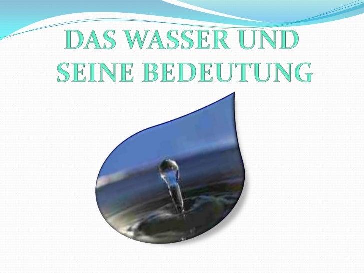 """ÜBER DEM WASSER IM ALLGEMEINEN Der Name des Wassers im Griechischen kommt aus dem  byzantinischen Ausdruck """"neues Wasser""""..."""