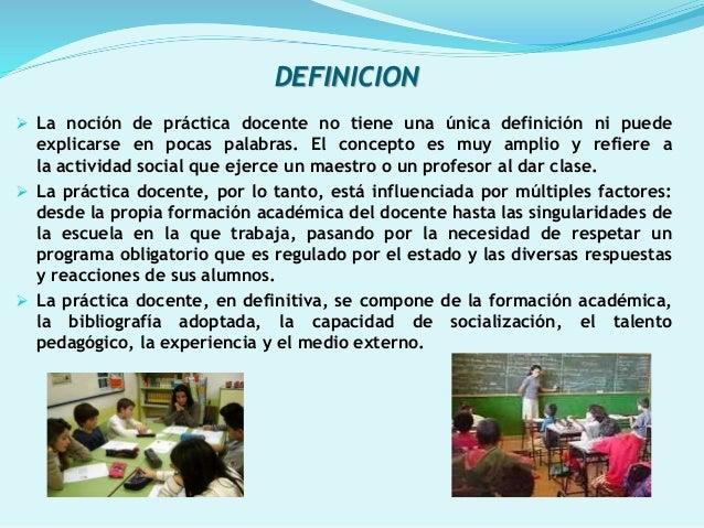 Power point practica docente for Practica de oficina definicion