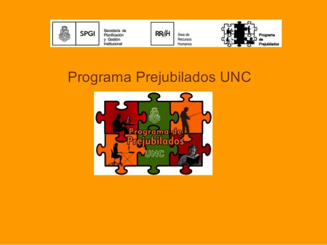 Programa Prejubilados UNC