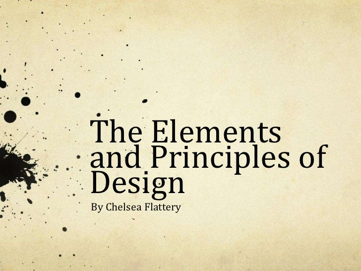The Elements And Principles Of Design : Design elements and principles crowdbuild for