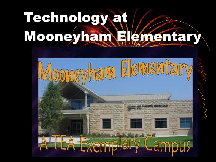 Technology at  Mooneyham Elementary