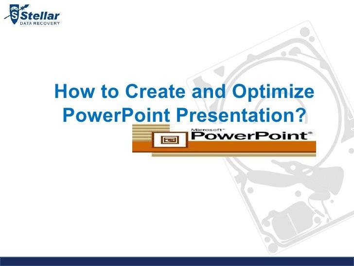 PowerPoint Presentation Tips & Tricks