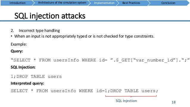 Web security sql injection - Sql injection drop table example ...