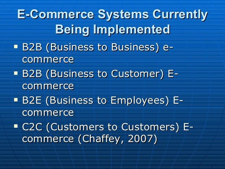 Master thesis presentation on e comerce