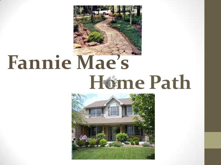 Fannie Mae's<br />Home Path<br />