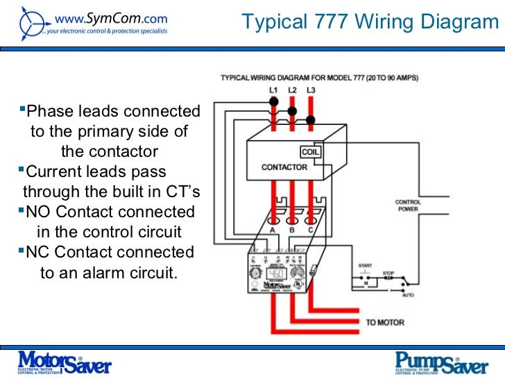 Wiring Single Phase Motor Overload Switch - Wiring Circuit •