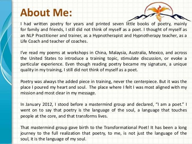 American Poet| Transformational Poet: Nick LeForce | Powepoint Presen ...