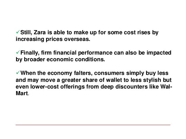 key issues of zara But zara's most important contribution isn't a new product it's a new process: fast  fashion, directed by customers, and enabled by a short.