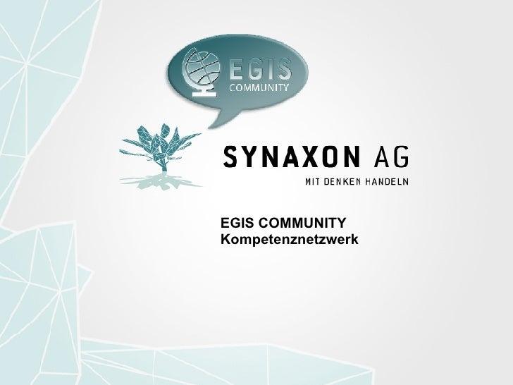 EGIS COMMUNITY Kompetenznetzwerk