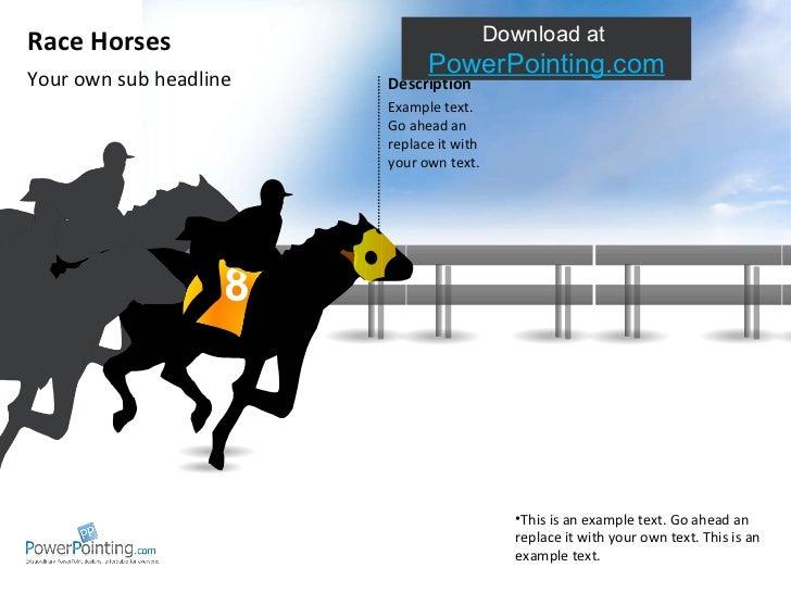 Powerpoint Race Horses