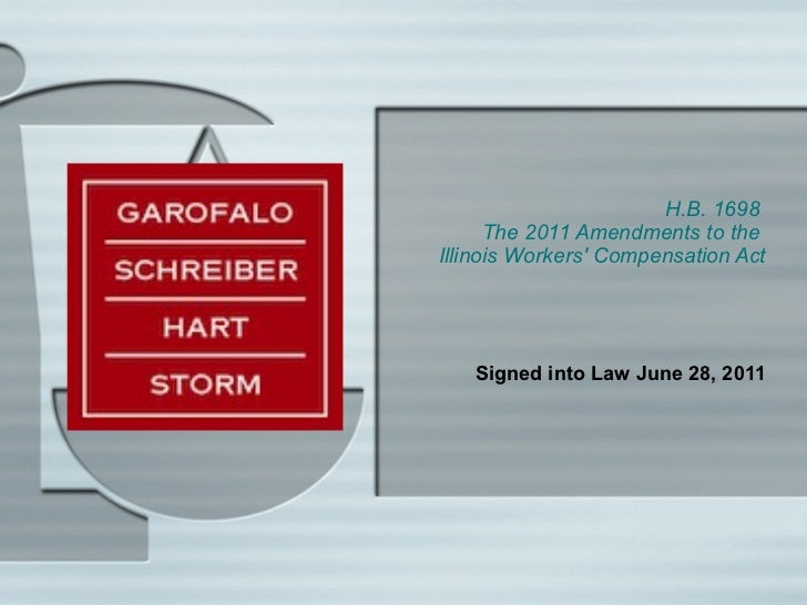 Power point re 2011 amendments to illinois workers' compensation act