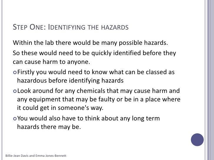 Why do we do risk assessments?