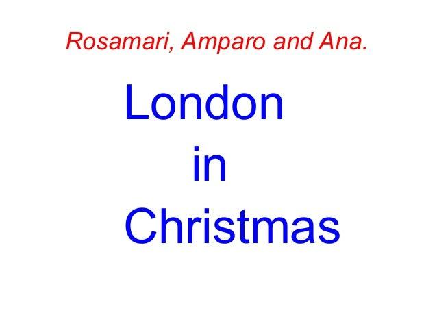 Power point rosamari, amparo and anna