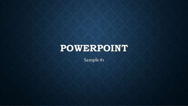 How to make good powerpoint presentations design