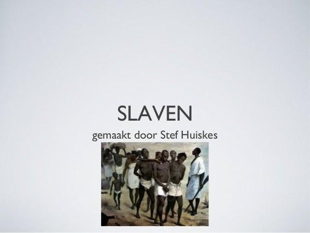 Powerpoint slaven stef