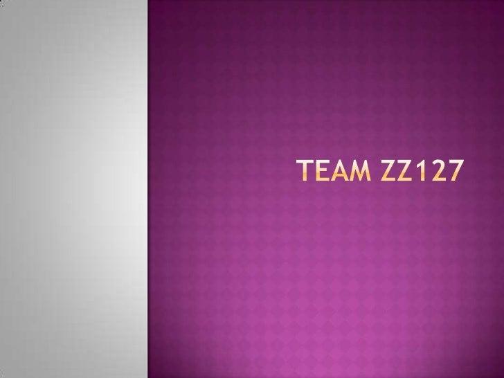 Team ZZ127<br />