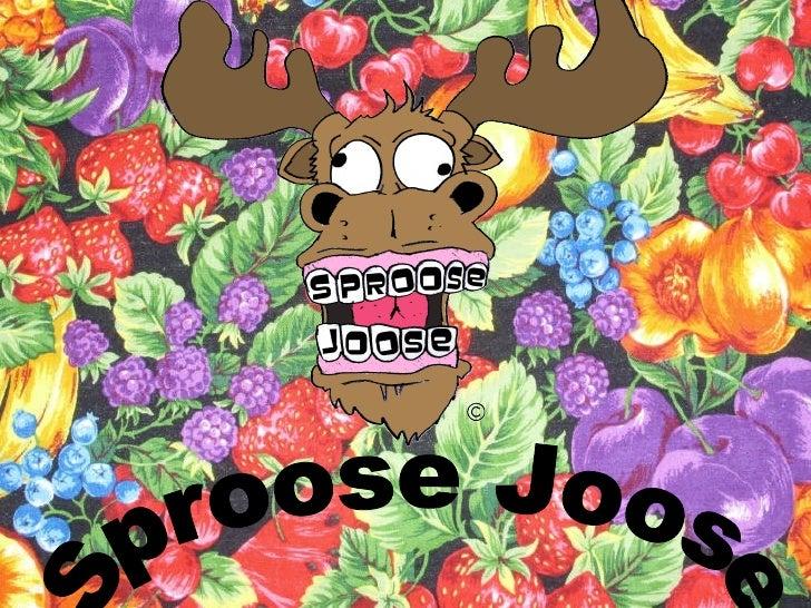 Sproose Joose