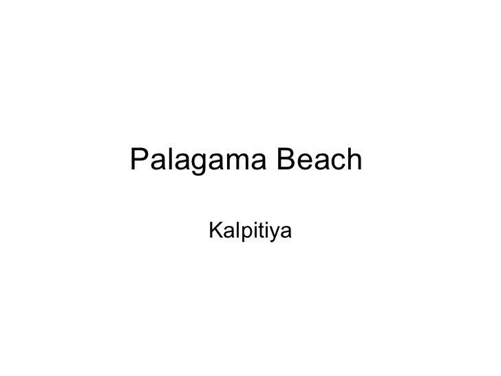 Palagama Beach, Kalpitiya - Sri Lanka