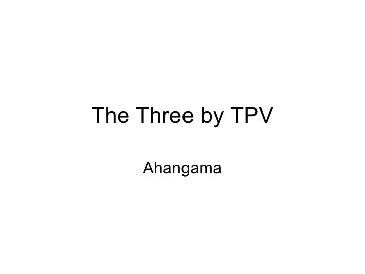 The Three by TPV    Ahangama