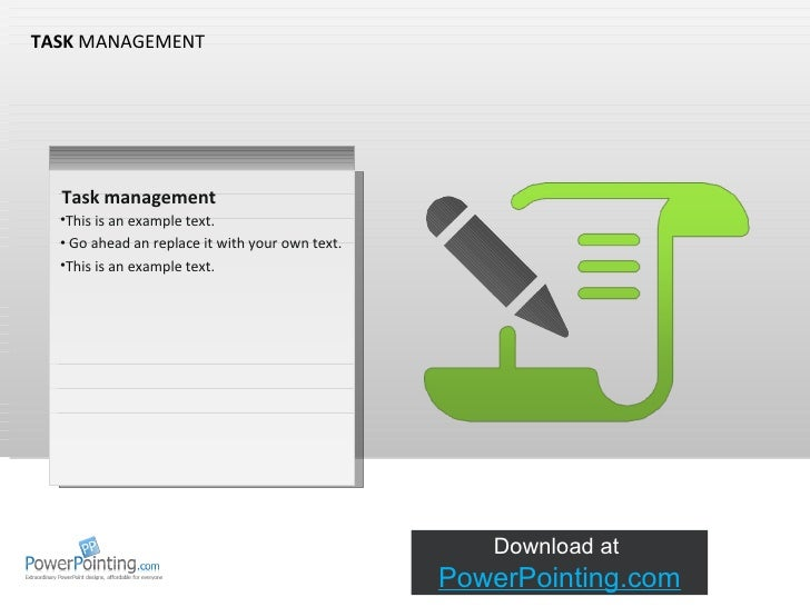 Powerpoint Task Management