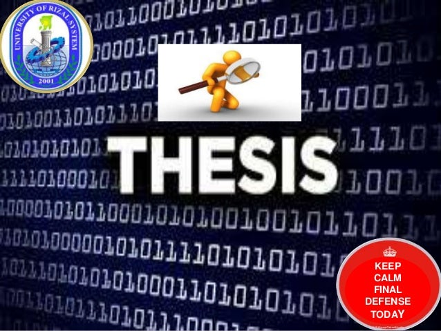 how do you defend a thesis This way can be more interesting to do and easier to read now, to get this how to defend a thesis title, you can download in the link that we provide.