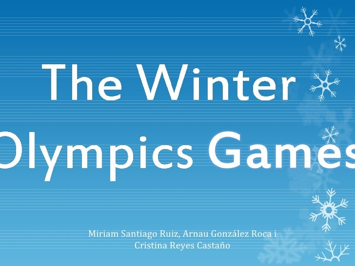 Power point the_winter_olympics_games_