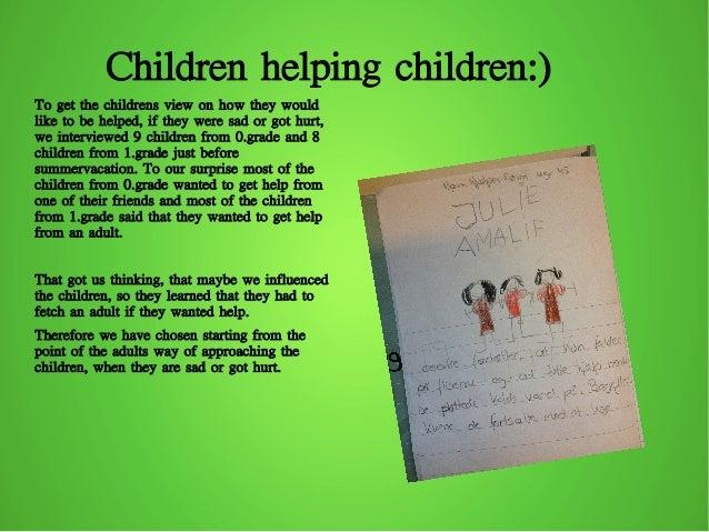 Children Helping Children