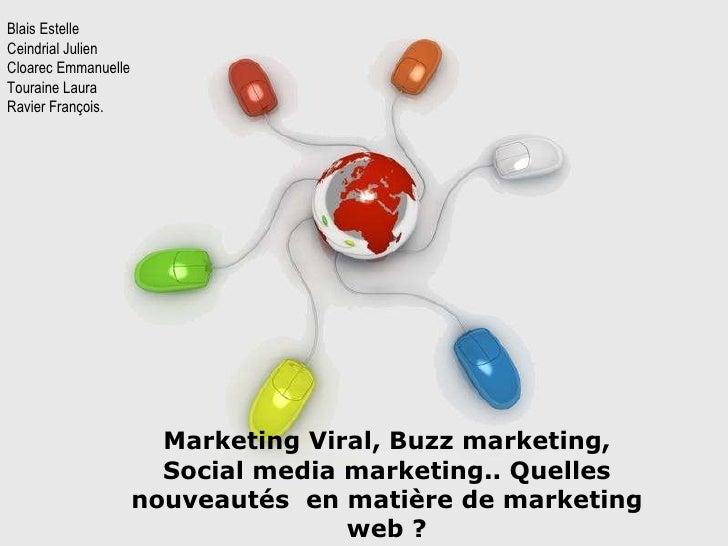 Free Powerpoint Templates Marketing Viral, Buzz marketing, Social media marketing.. Quelles nouveautés  en matière de mark...