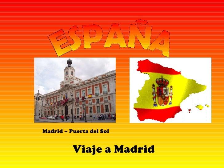 Power point viaje a madrid mireya - Viaje de novios espana ...
