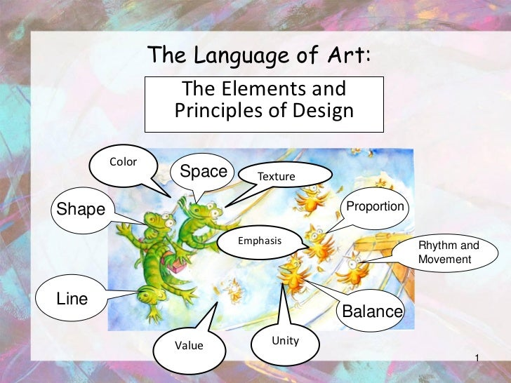 Elements And Principles Of Design Colour : Powerpoint elements and principles