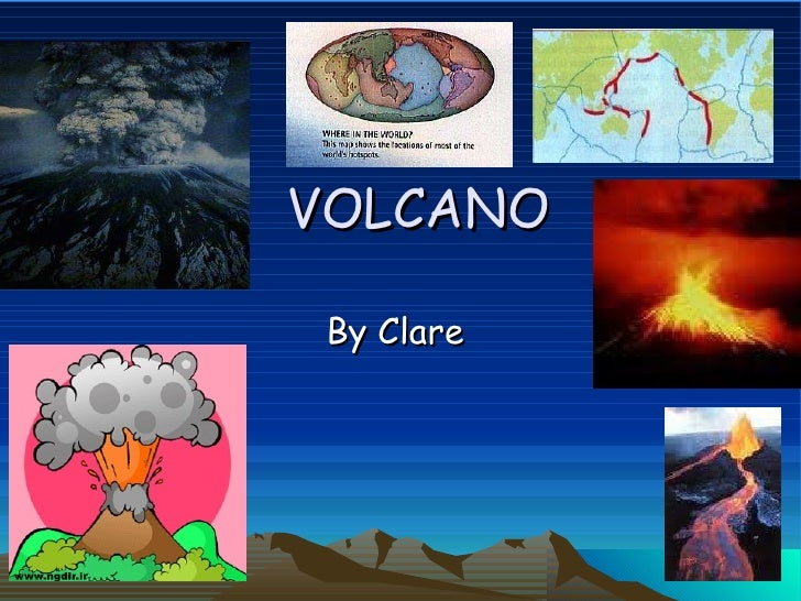 VOLCANO By Clare