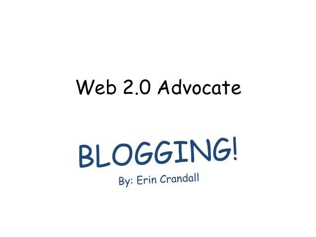 Web 2.0 Advocate