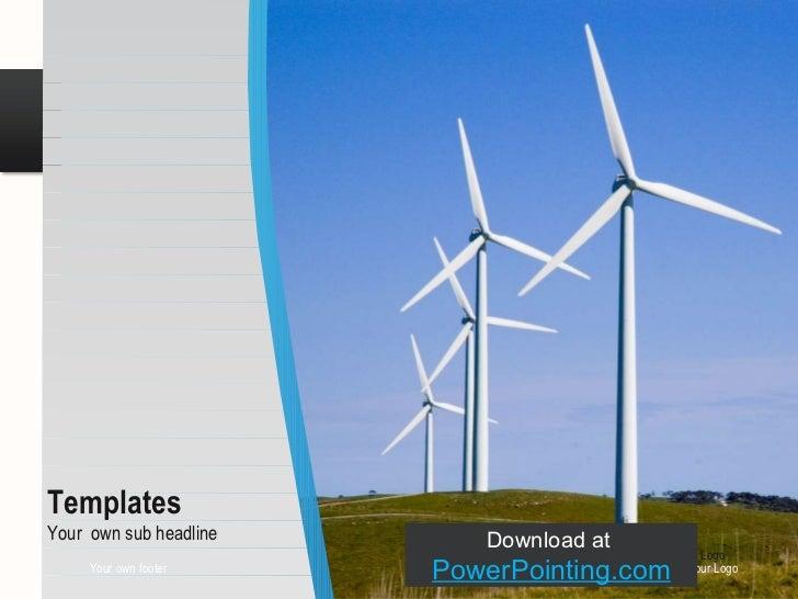 Powerpoint Wind Turbine