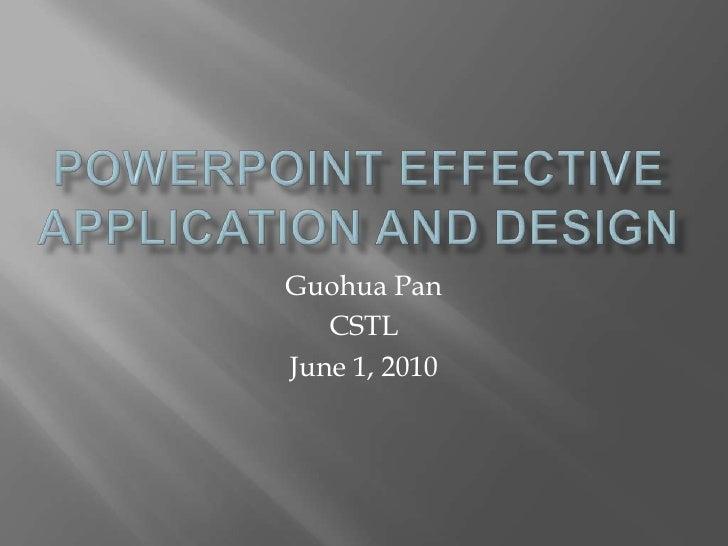Power pointworkshop