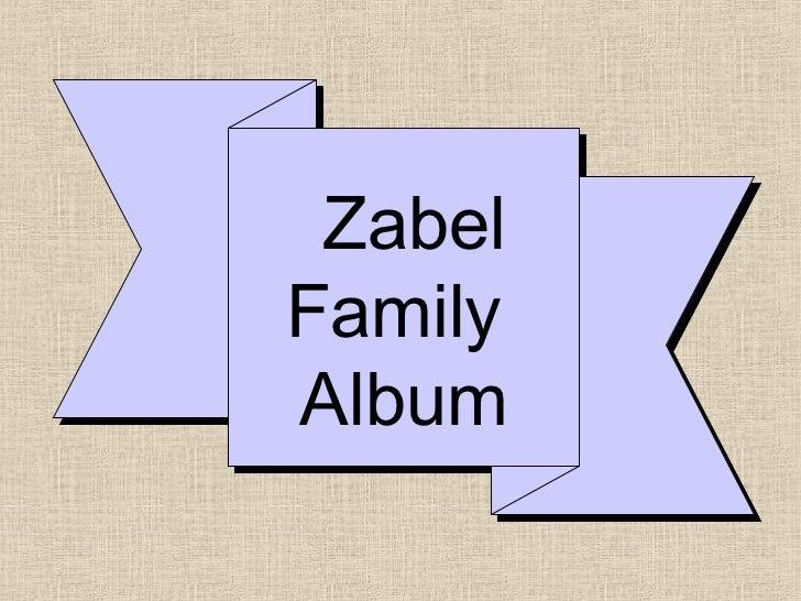 ZabelFamilyAlbum