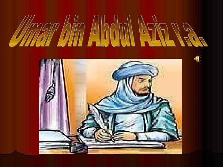 Power poin umar bin abdul aziz