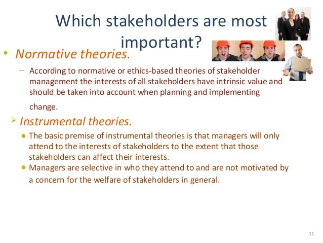 ethical branch stakeholder theory