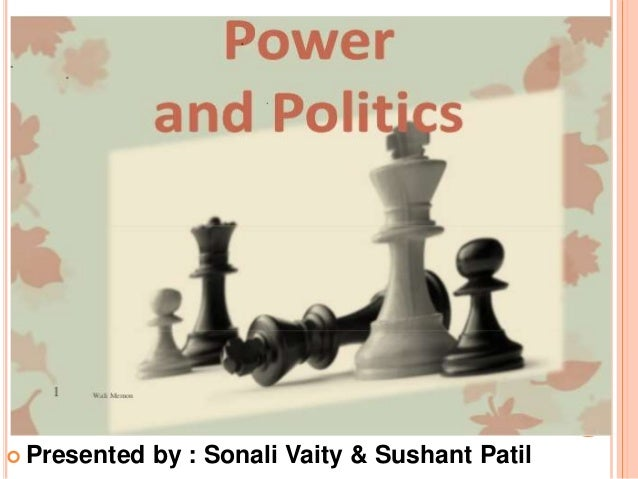 organizational power and politics essays
