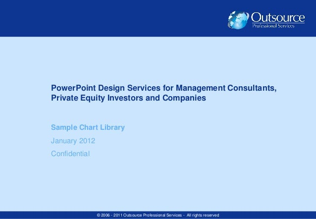 PowerPoint Design Services for Management Consultants,Private Equity Investors and CompaniesSample Chart LibraryJanuary 20...