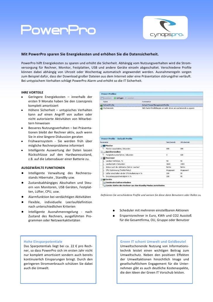 PowerPro Flyer deutsch