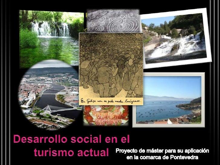 """A. ENFOQUE DEL PROYECTO   •   El turismo actual   • Un """"nuevo"""" enfoque: el turismo y la sostenibilidadB. Propuesta de actu..."""
