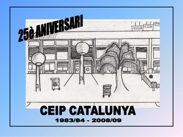 Revista 25è aniversari de l'Escola Catalunya
