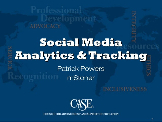 CASESMC: Social Media Analytics and Tracking