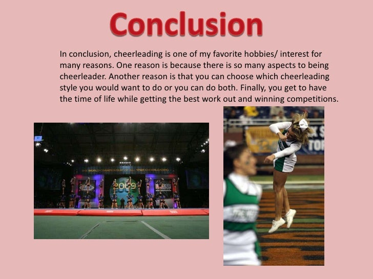 Is cheerleading a sport essay