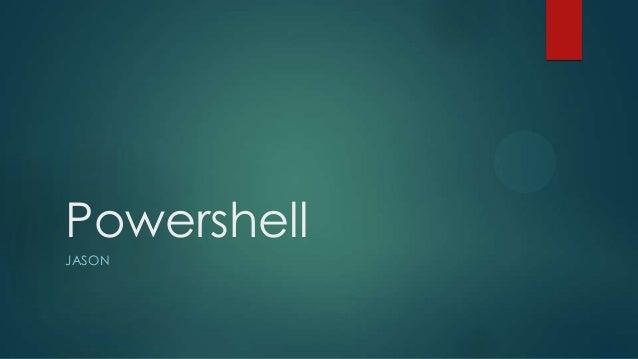 Power shell