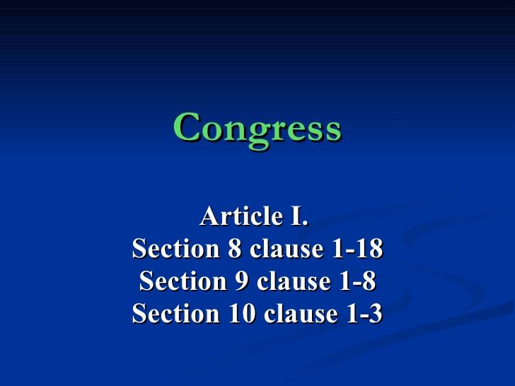 Art 1 Sec 10 #15